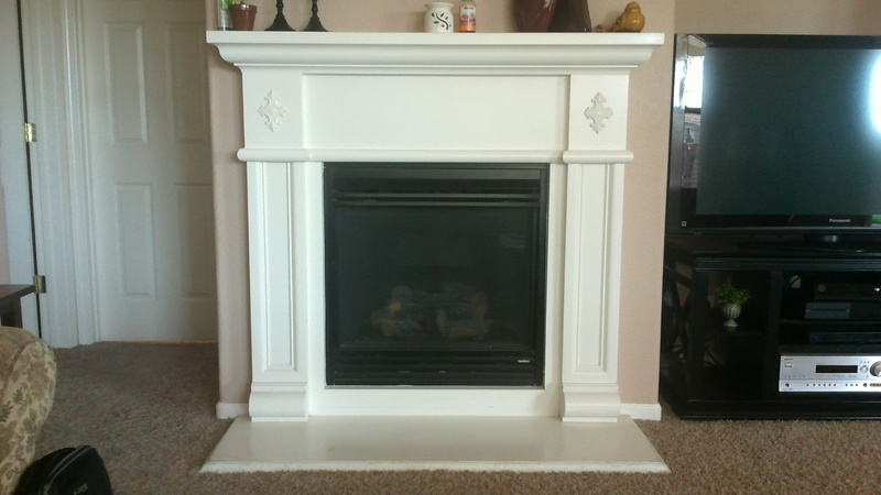 How T Remove A Gas Fireplace Surround (mantle Shelf, Legs, Hearth ...
