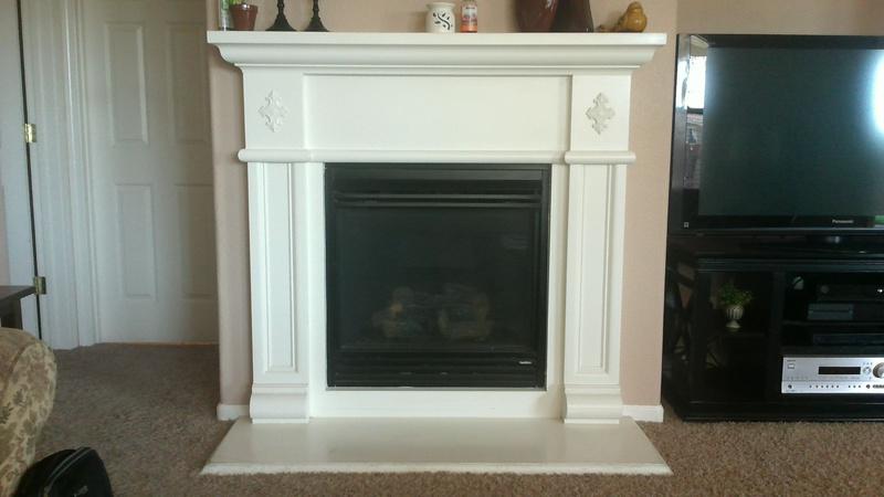 Diy Fireplace Shelf