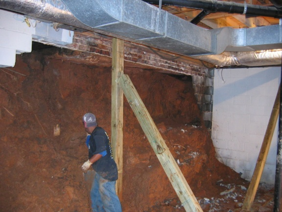 New Basement In High Water Table Windfield  ...