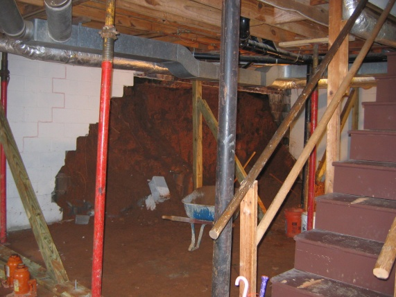 new basement in high water table building construction diy