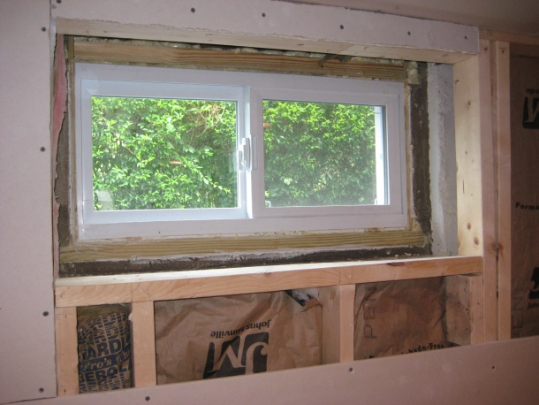 Framing And Trimming Basement Window Carpentry Diy