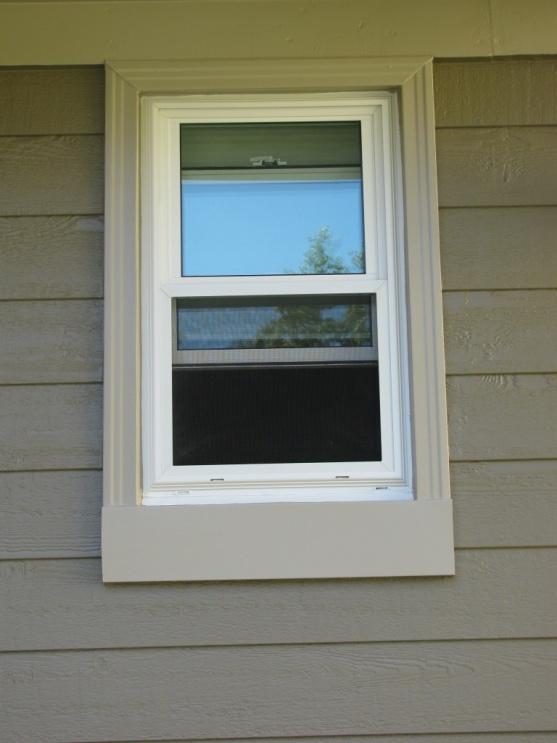 Window vinyl trim figure 5 low expansion foam sprayed for Buy vinyl windows online