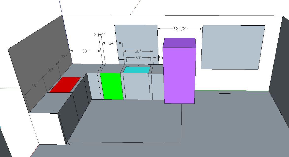 Remove kitchen walls below Fink truss attic, load bearing or not?-window-sink-center-fridge.jpg