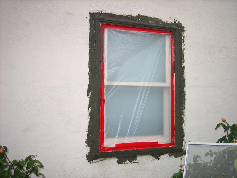 Exterior Window Trim Stucco switching to foam/stucco trim from wood trim - windows and doors