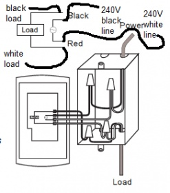 single pole vs. double pole thermostat - electrical - diy ... 240v baseboard wiring diagram #8