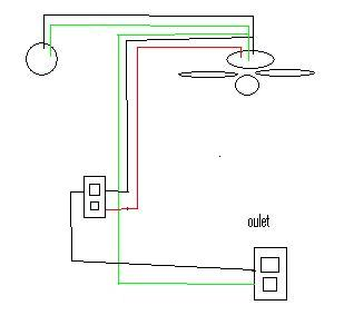 Ceiling  Wiring on Wiring Up A New Ceiling Fan    Electrical   Diy Chatroom   Diy Home