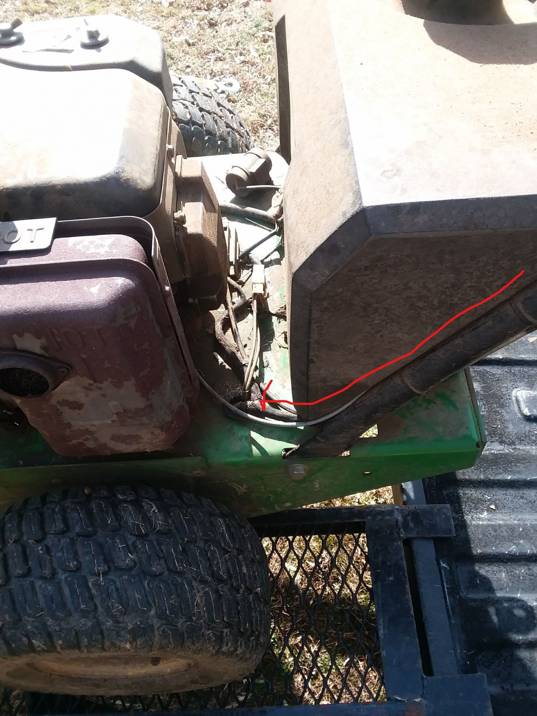 John Deere Commercial Walk Behind Loose wire/won't start-wire_path_from_console.jpg
