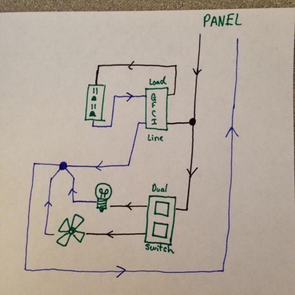 strange gfci problems electrical diy chatroom home. Black Bedroom Furniture Sets. Home Design Ideas
