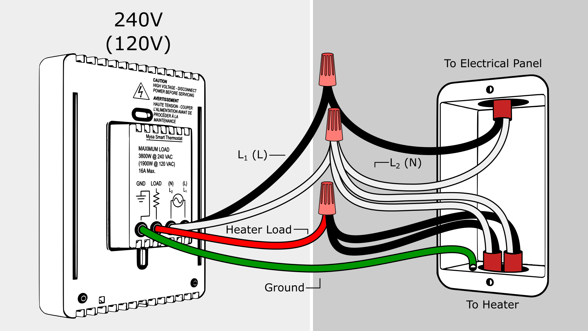 Thermostat Wiring Diagram Heater from www.diychatroom.com