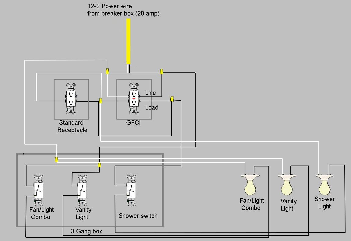 Bathroom Remodel New Wiring. - Electrical - Page 7 - DIY Chatroom Home  Improvement ForumDIY Chatroom