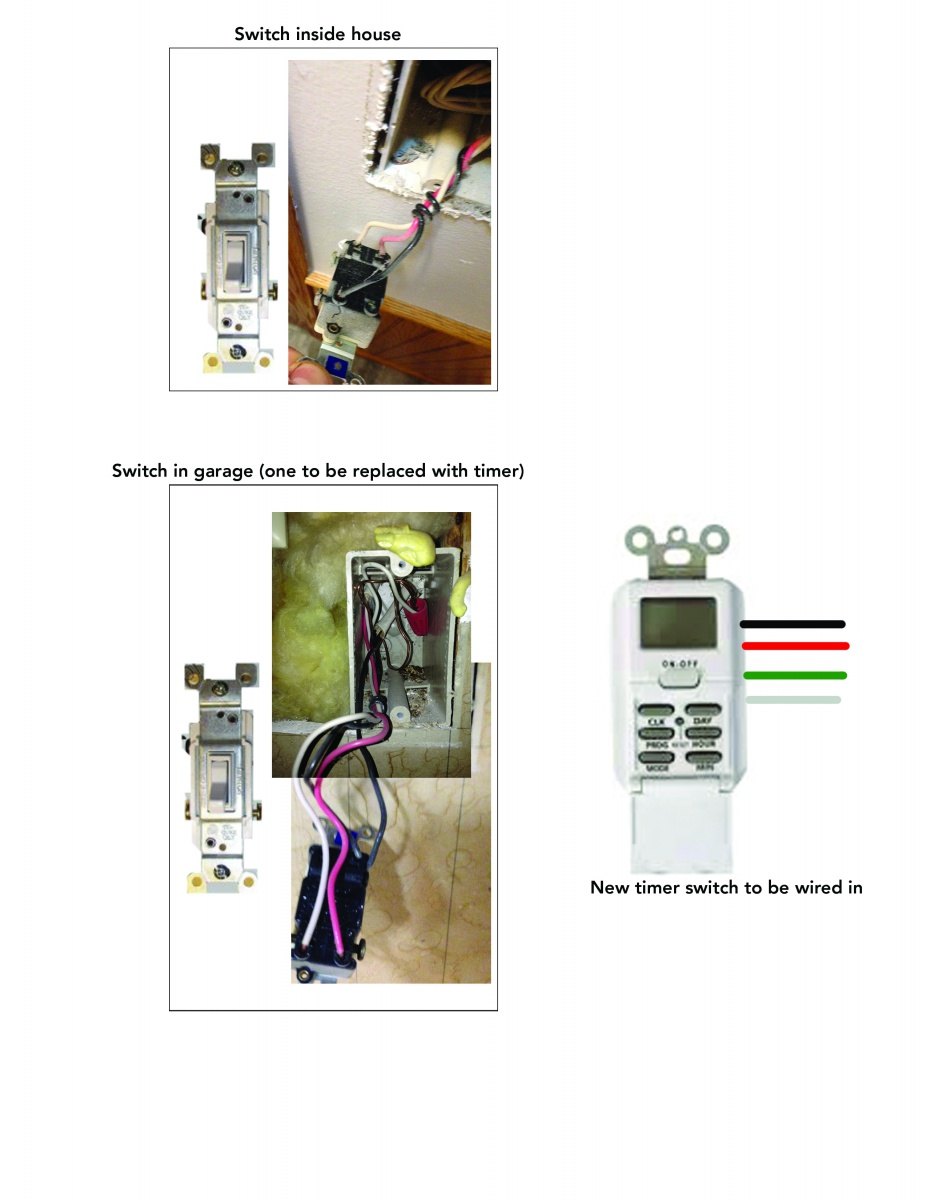 Woods Digital Timer Switch Wiring - Electrical