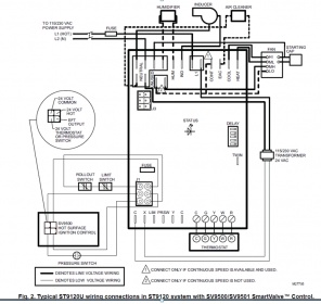 inducer motor will not start - hvac - diy chatroom home ... house furnace motor wiring diagram ge furnace motor wiring