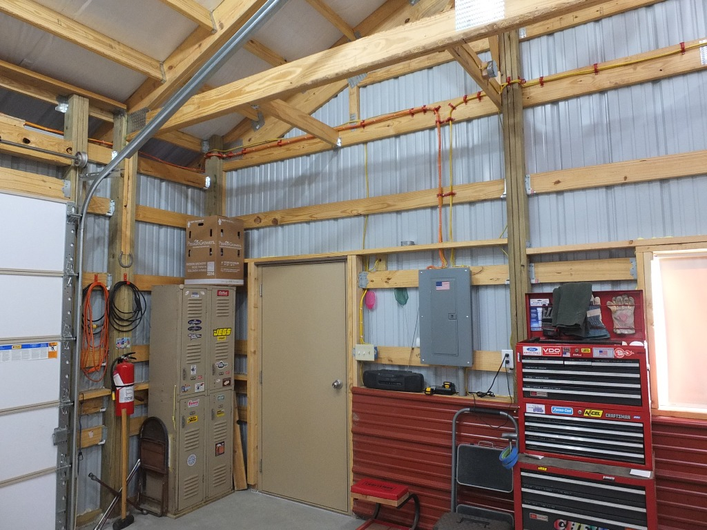 Pole Barn Wiring To Be Hidden Electrical Diy Chatroom