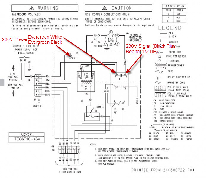 Evergreen Ecm Retrofit - No Fan Circuit Board - Hvac