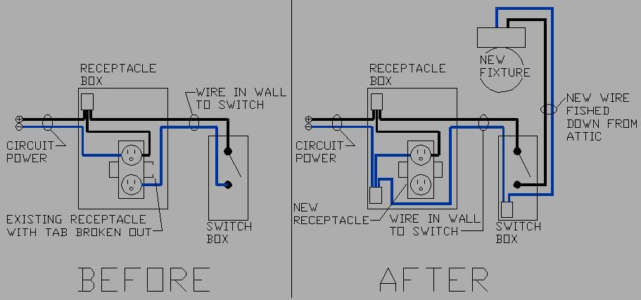 Ceiling light fixture wiring diagram ceiling light ideas electrical wiring diagram off ceiling light free asfbconference2016 Gallery