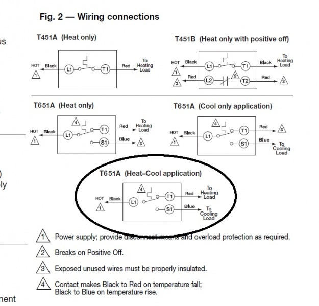 84179d1398369903 high voltage thermostat wiring high voltage thermostat hvac diy chatroom home improvement forum honeywell t651a3018 wiring diagram at creativeand.co
