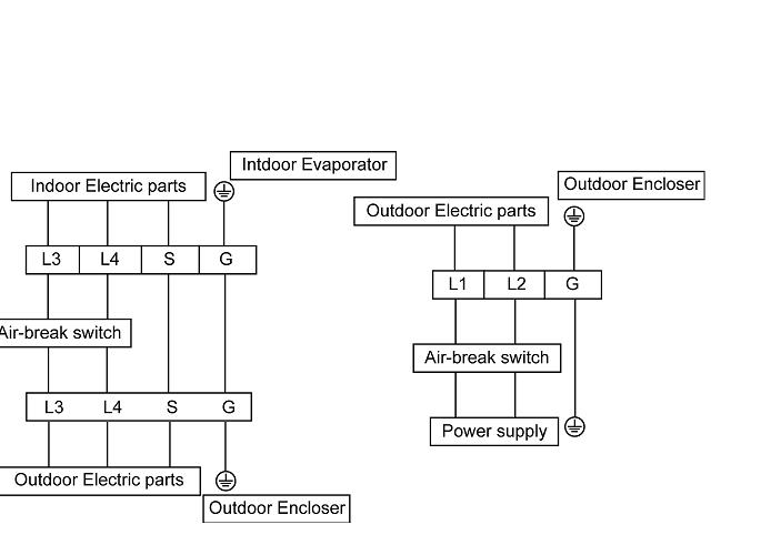 Wiring Scheme For Mini Split A  C - Electrical