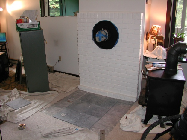 Painting a Woodstove Brick Hearth-woodstove-progress.jpg
