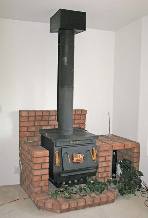 How Do You Remove A Wood Stove And, How To Build A Brick Wood Stove Surround