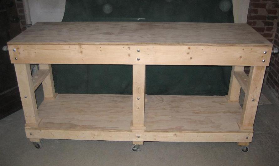 Garage Work Bench Worktable2