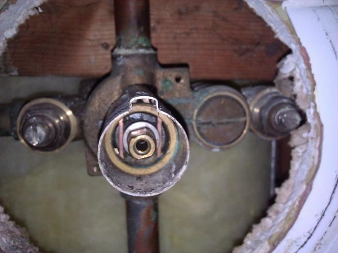 Replacing Old Moentrol Single Handle Shower - Plumbing