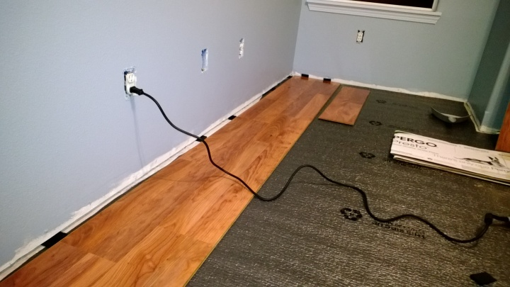 1 Drywall Floor Gap