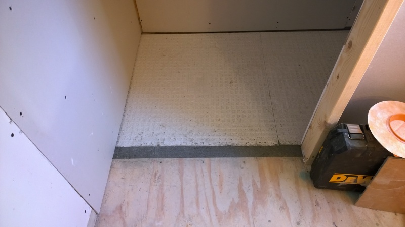 How To Do Shower With Linear Drain And No Threshold