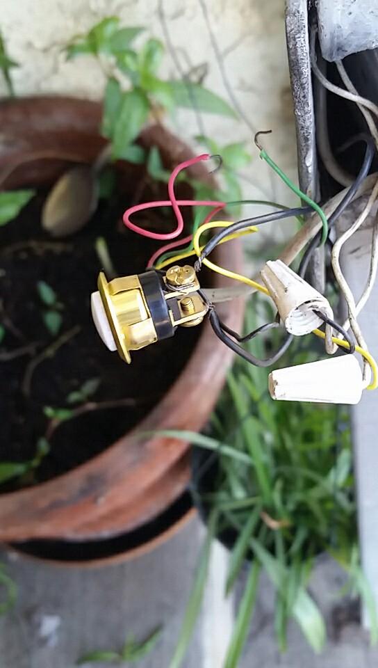 Doorbell Button Wiring