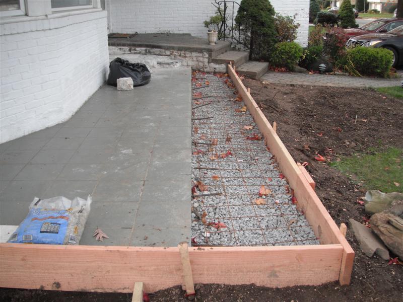 How Do I Make A Concrete Patio Designs   How To Build A Concrete Patio Slab