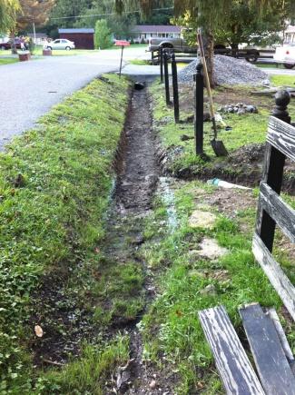 Sump Pump in Patio / Yard Drains-yardditch1.jpg