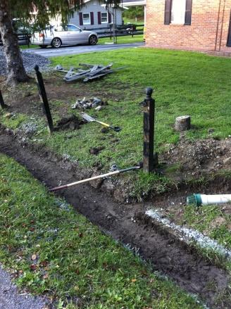 ... Sump Pump In Patio / Yard Drains Yardditch2 ...