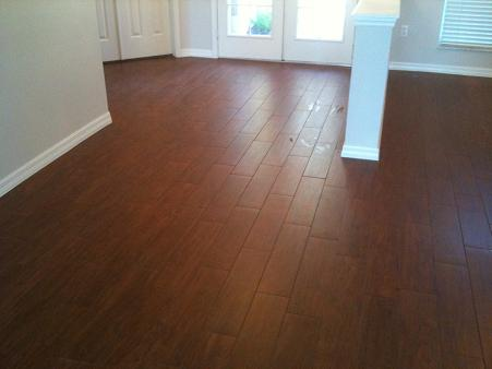 Attractive Ceramic Tile That Looks Like Hard Wood Floor Z5