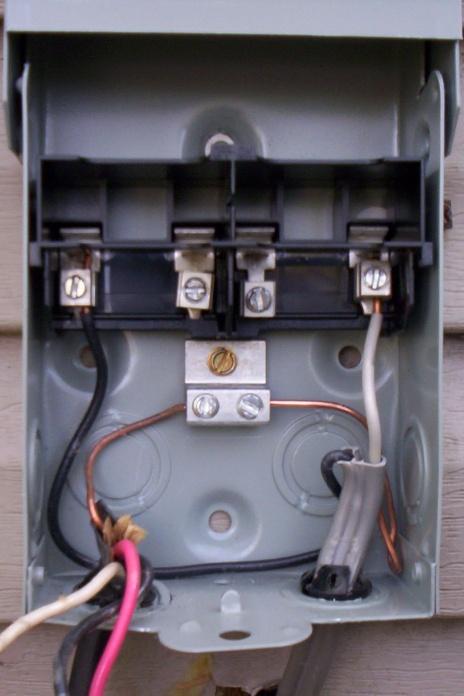 AC Disconnect Switch | DIY Home Improvement Forum  DIY Chatroom
