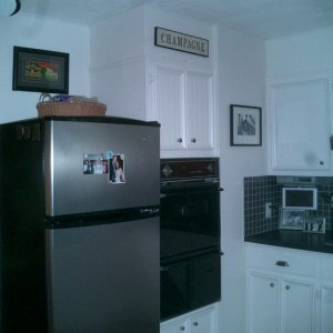 Another view of the completed kitchen