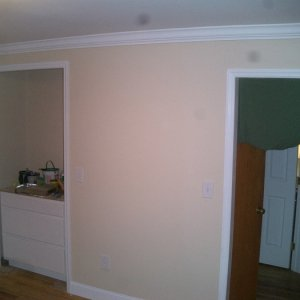 """The """"Serving Nook"""" wall..."""