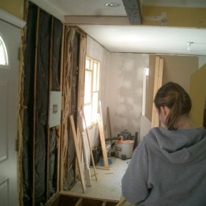 Bless my wife -- she put up with a mess for a long time