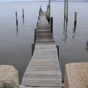 Pier before