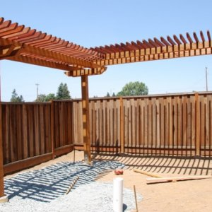 Pergola Finished