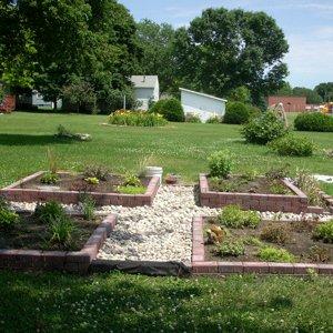 Perenial garden veiw #2
