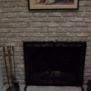 Fireplace. 5.2009