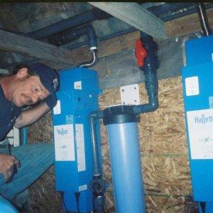 Two 30gpm Hallett UV. Installed 2005