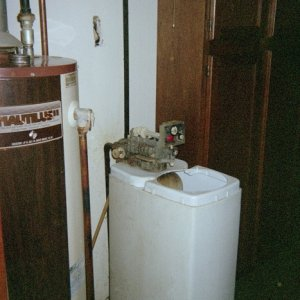 old cabinet Lindsey softener, Replaces with 2030 in 2006
