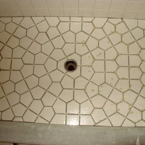 tessellation tile shower floor layout- 2 different pentagons is all- A tessellation or tiling of the plane is a collection of plane figures that...