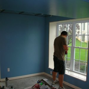 Installing window seats/trim