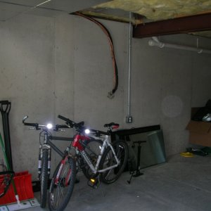 Basement before I started the project