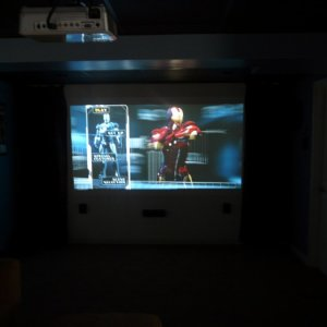 Optoma HD65 Projector with Samsung 1000 watt system