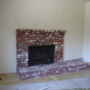 summer 2008 059    Before/ Old recycled brick from the 60's