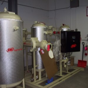 New compressed air dryer