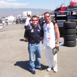 Scott Riggs and I in California