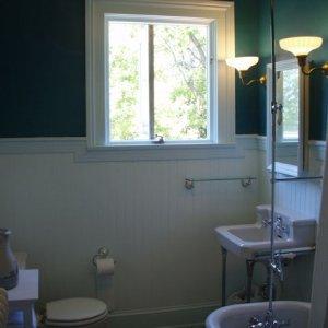 Hall bath finished